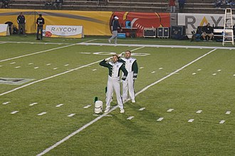 Eastern Michigan University Marching Band - Eastern Michigan University Marching Band drum majors
