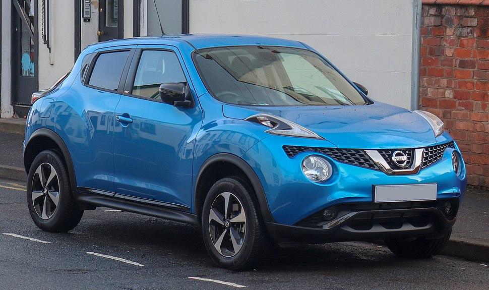 2018 Nissan Juke Bose Personal Edition 1.6 Front