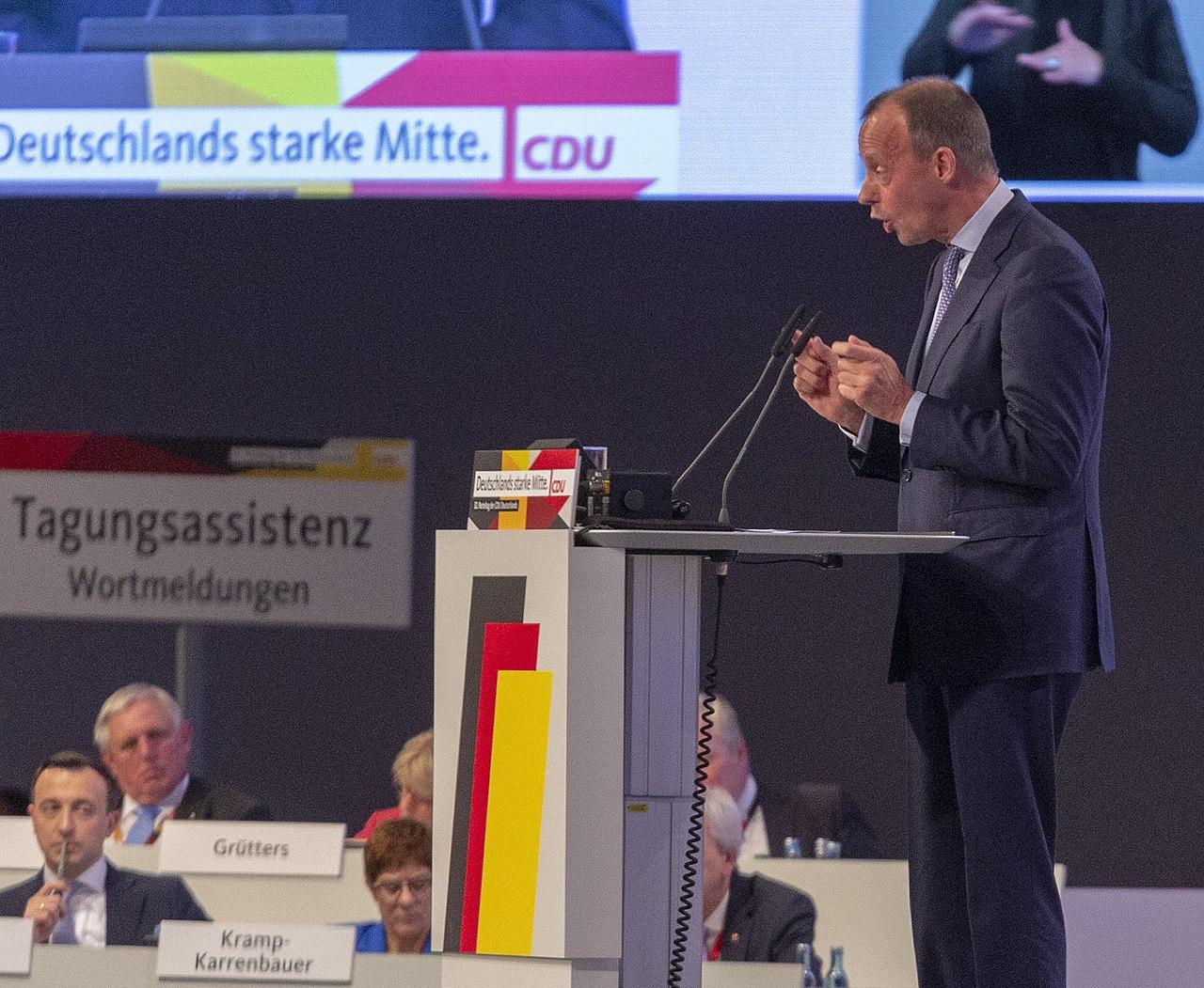 2019-11-22 Friedrich Merz CDU Parteitag by OlafKosinsky MG 5737.jpg