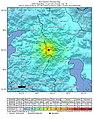 2020 February 23 1600 Iran-Turkey border region earthquake intensity.jpg
