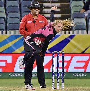 Leigh Kasperek New Zealander cricketer
