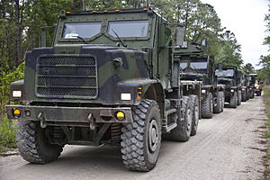 Medium Tactical Vehicle Replacement - Image: 2D Marine Regiment CPX 130502 M ZE445 002