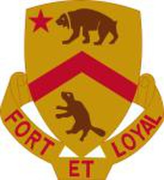 61st Cavalry Division (United States) - Image: 301st Cavalry Regiment DUI
