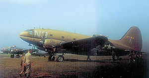 29th Weapons Squadron - 313th Troop Carrier Group C-46