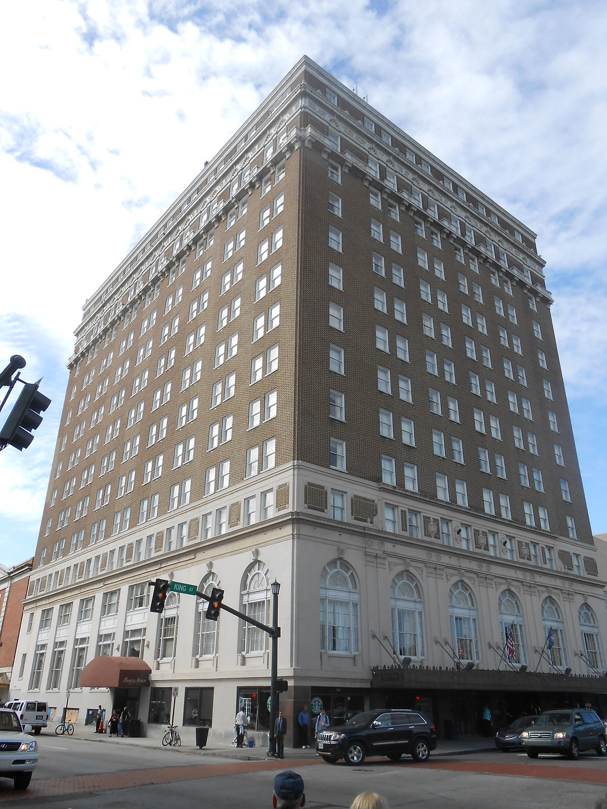 Francis Marion Hotel Wikipedia