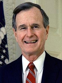 George H W Bush Wikipedia