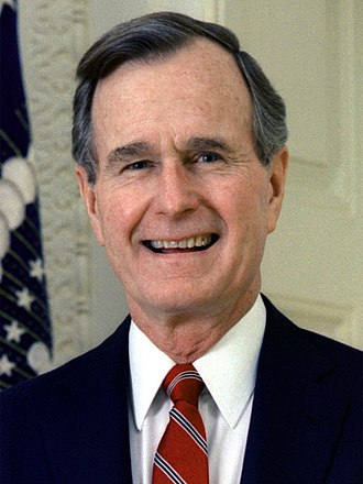 United States presidential election in California, 1992 - Image: 43 George H.W. Bush 3x 4