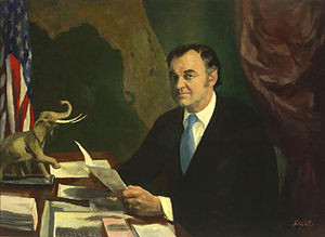 Claude R. Kirk Jr. - Governor Kirk official painting
