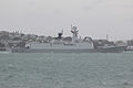 547 Linyi, Type 054A Jiangkai II class Frigate, People's Liberation Army Navy, 15 October 2013 - Auckland.jpg