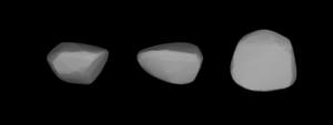 578 Happelia - A three-dimensional model of 578 Happelia based on its light curve