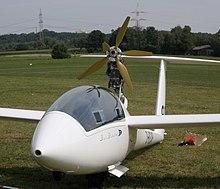 Bildergebnis für klapptriebwerk segelflugzeug
