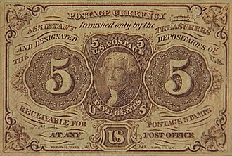 Obsolete denominations of United States currency - Image: 5cf big