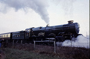 GWR 6000 Class - Image: 6024 King Edward 1 Didcot railway centre
