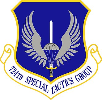 24th Special Tactics Squadron - Image: 724th Special Tactics Group insignia