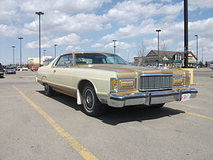 Mercury Grand Marquis - 1975–1978 Mercury Grand Marquis 2-door