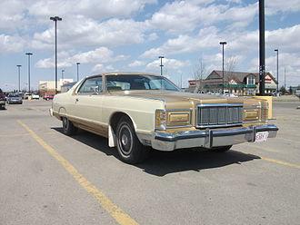 Mercury Grand Marquis - 1975–1978 Mercury Grand Marquis 2-door