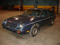 1979er Plymouth Horizon TC3