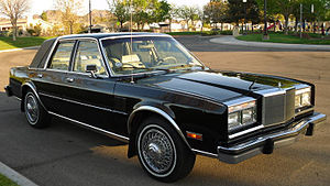 Chrysler M platform - Image: 84Chrysler Fifth Avenue