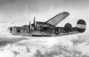 852d BS B-24D 42-40123 in flight