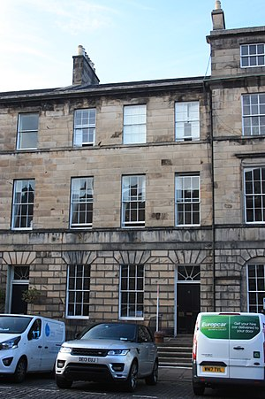 Joseph Anderson (antiquarian) - 8 Great King Street, Edinburgh