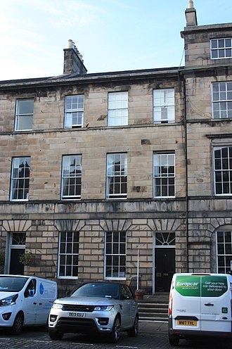 David Anderson, Lord St Vigeans - The Anderson family home at 8 Great King Street, Edinburgh