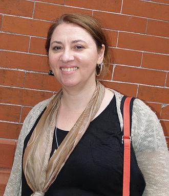 Heidi MacDonald - MacDonald at the 2014 Brooklyn Book Festival
