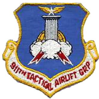 911th Airlift Wing - Image: 911th Tactical Airlift Group Emblem
