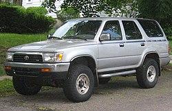 1992–1995 Toyota 4Runner (US)