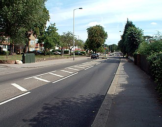 A215 road - Image: A215 Beulah Hill, Norwood SE19 geograph.org.uk 50984