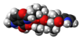 A23187 molecule spacefill.png