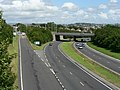 A38 and slip road to St Budeaux, Plymouth. - geograph.org.uk - 915050.jpg