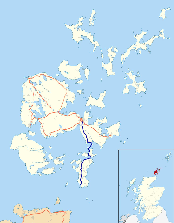 St Margaret Hope Orkneh Islands Scotland