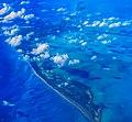 AA flight from Quito, Ecuador to Miami, Florida...Cayo Largo, just off the south coast of Cuba... (26361864763).jpg