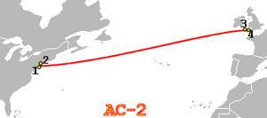AC-2 - Image: AC 2 route