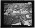 AERIAL VIEW NORTHEAST ON DELAWARE AVENUE FROM ABOVE THE U.S. CAPITOL. - Delaware Avenue, Washington, District of Columbia, DC HABS DC,WASH,592-2.tif