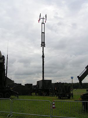 MIM-104 Patriot - AN/MSQ-104 vehicle of a Dutch Patriot unit