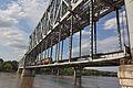 ASB Bridge with train crossing, 2013.jpg