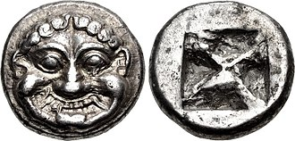 Ancient Greek coinage - The earliest coinage of Athens, circa 545-525/15 BC
