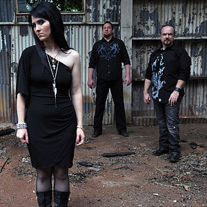 Angelical Tears - Angelical Tears 2012 - From Left To Right: Julia, Glenn, Steven