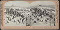 A Crowded Beach, Atlantic City, N.J, from Robert N. Dennis collection of stereoscopic views.png