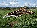 A Pile of wooden stakes and bricks^ Upper Wellingham, East Sussex - geograph.org.uk - 1458754.jpg