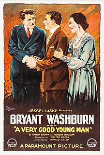 <i>A Very Good Young Man</i> 1919 film by Donald Crisp