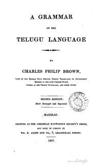 A grammar of the Telugu language/BOOK ELEVENTH - వికీసోర్స్
