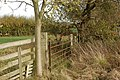 A little-used farm gate south of Broadwell - geograph.org.uk - 1565033.jpg