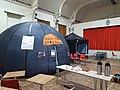 A mobile Planetarium in a Village Hall.jpg