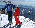 A short visit to Rossland BC, and the Red Mountain Ski Resort - the 'Fou' and Kim - (19673380846).jpg