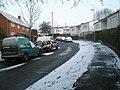 A snowy Walford Road - geograph.org.uk - 1624177.jpg