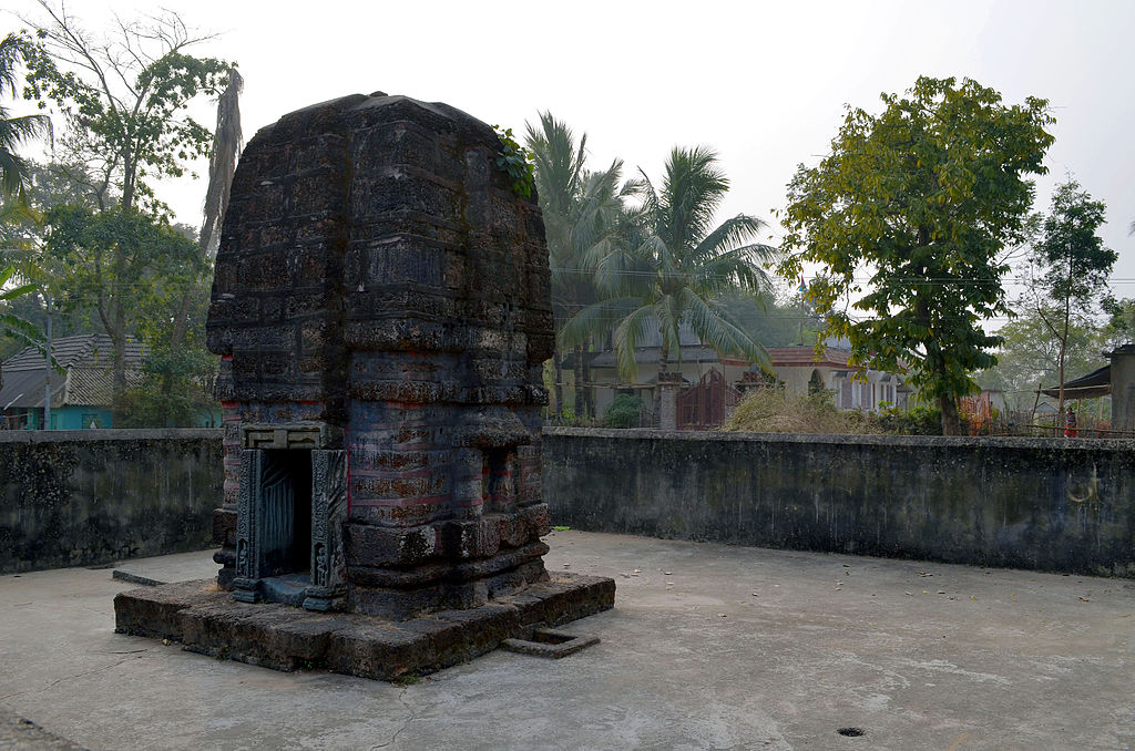 One of the deulas of the Khajureshwar complex