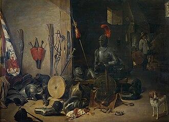 Abraham Teniers - Guardroom scene