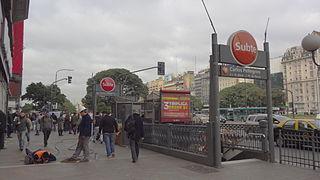Carlos Pellegrini (Buenos Aires Underground) Buenos Aires Underground station
